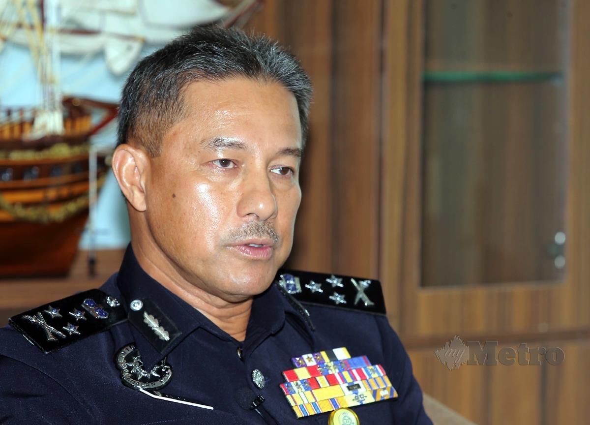 CP Datuk Zamri Yahya. FOTO Saifullizan Tamadi