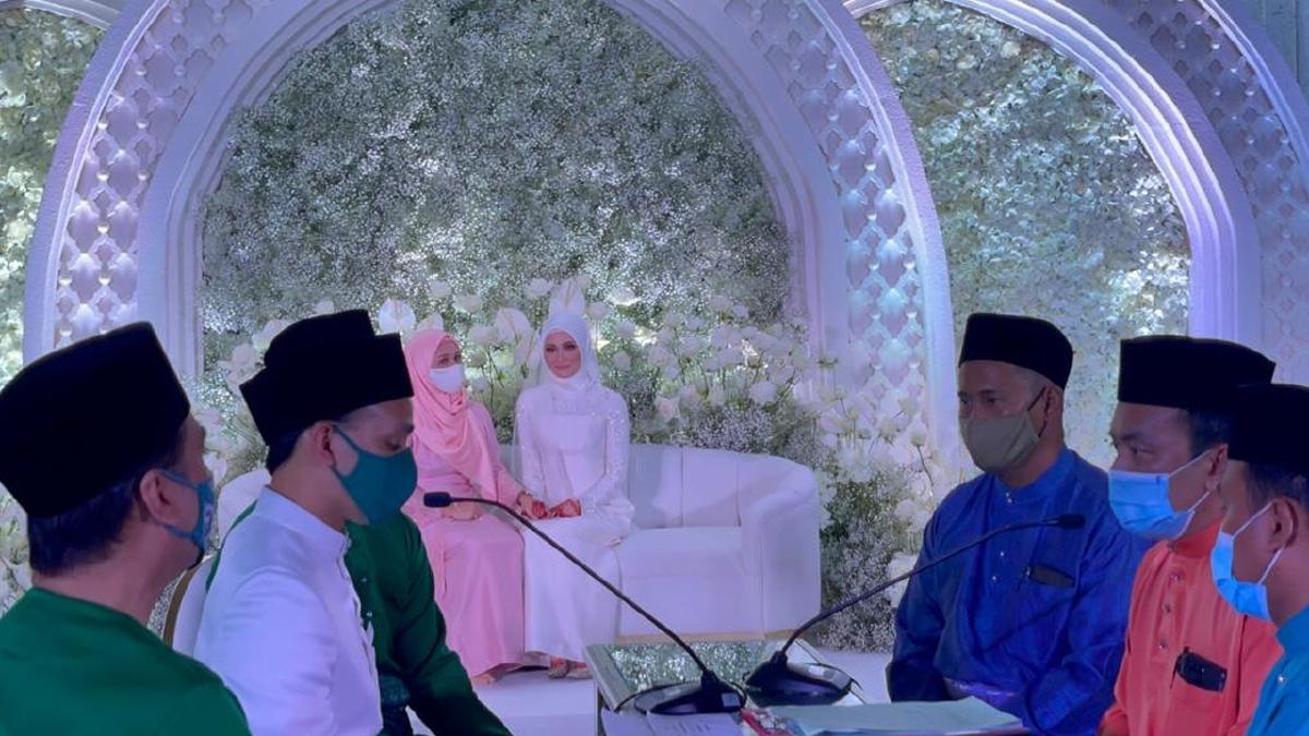 AYDA Jebat sah menjadi isteri kepada Nabil Mahir. FOTO Najiy Jefri