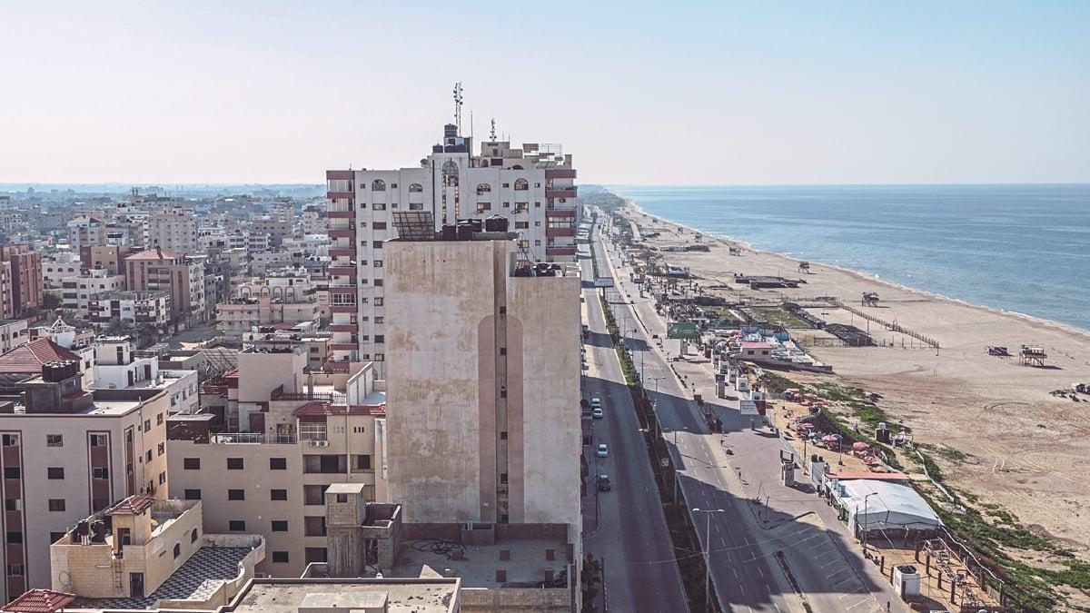 PEMANDANGAN bandar raya Gaza, Palestin. Imam Syafie dilahirkan di Gaza pada 150 Hijrah bersamaan 767 Masihi.