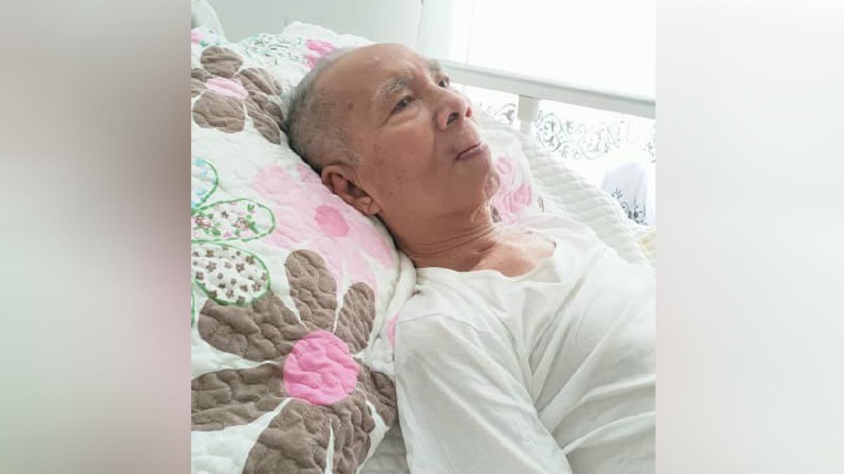 PELAWAK veteran Jamali Shada.