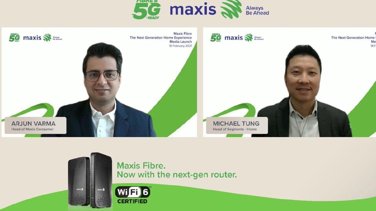 MAXIS Berhad memperkenalkan penghala generasi baharu iaitu WiFi 6