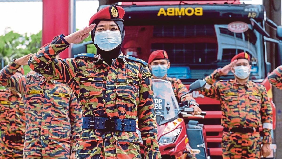 SAMBUTAN Hari Anggota Bomba Sedunia 2020. FOTO fail