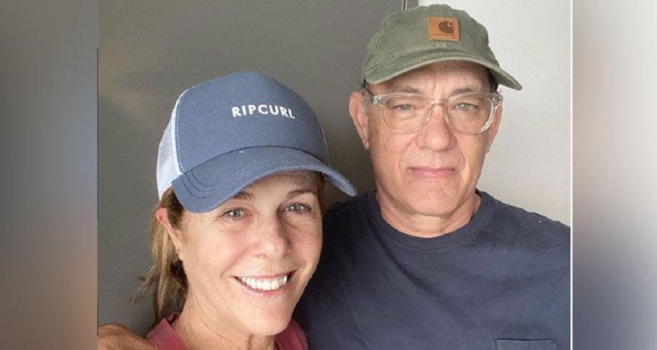Tom Hanks dan isteri dikuarantin di Australia | Harian Metro