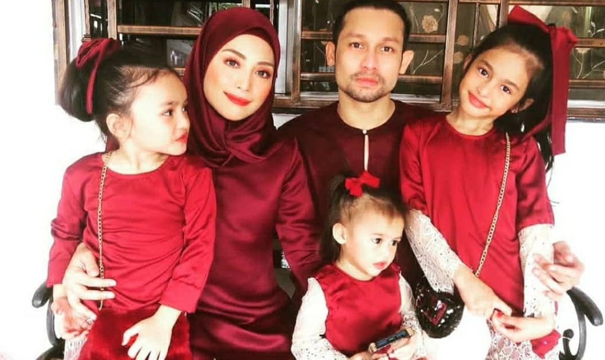 BEEGO bersama isteri, Linda dan anak-anak mereka.