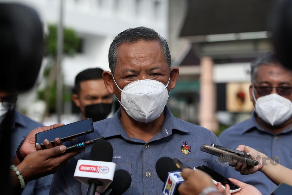 DATUK Seri Aminuddin Harun.