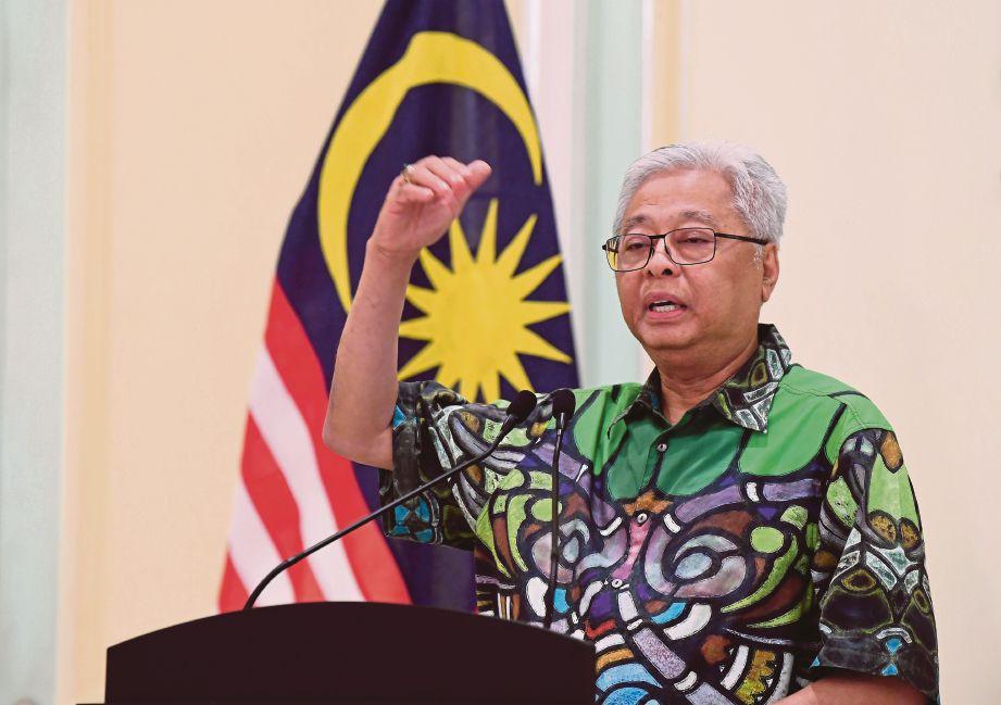 DATUK Seri Ismail Sabri Yaakob. FOTO Bernama