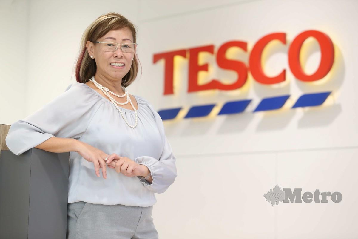 PENGARAH Pelanggan Tesco, Vivian Yap