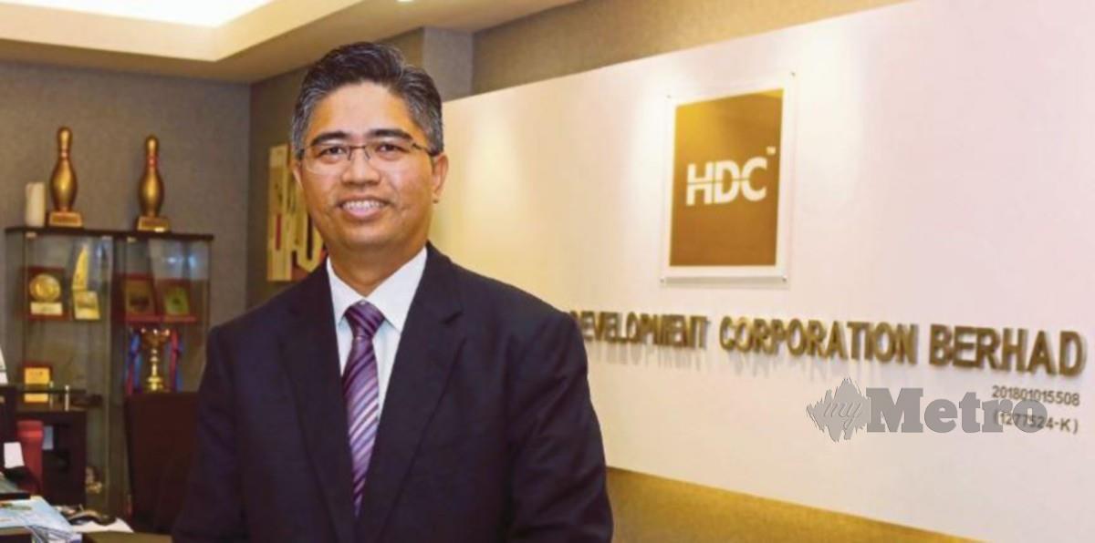 KETUA Pegawai Eksekutif Perbadanan Pembangunan Industri Halal (HDC), Hairol Ariffein Sahari.