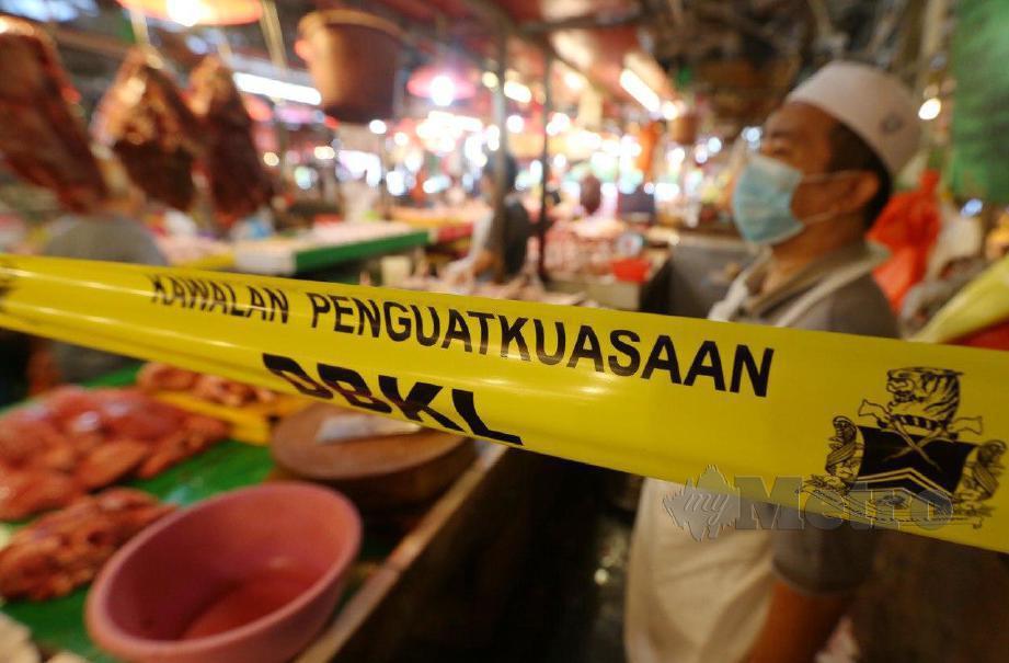 PASAR Chow Kit. FOTO Mohd Yusni Ariffin