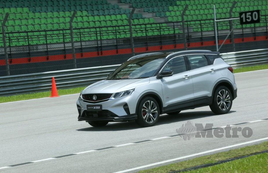 PROTON X50 yang menarik minat ramai rakyat Malaysia.