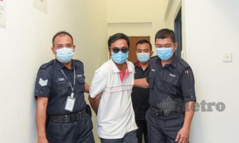 LELAKI berusia 35 tahun yang mengaku bersalah turut berdepan hukuman lima bulan penjara sekiranya gagal membayar denda. FOTO Juwan Riduan