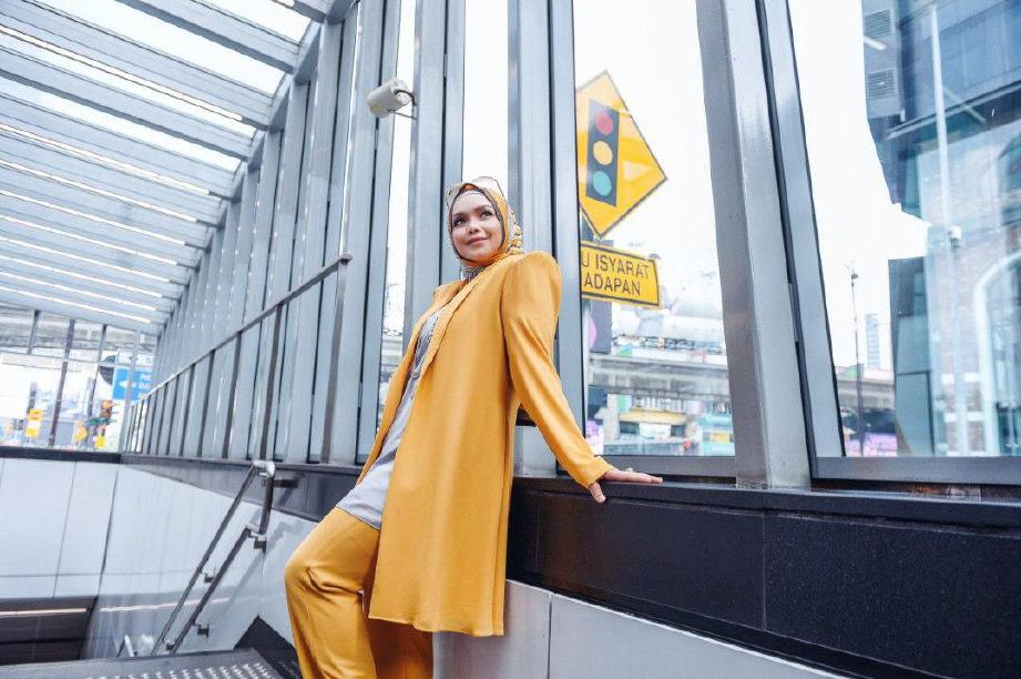 DATUK Seri Siti Nurhaliza berjudul ManifestaSITI2020 laku keras. FOTO ihsan Siti