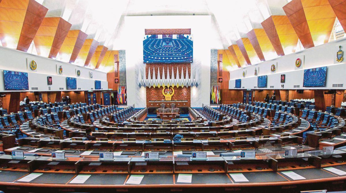 DEWAN Rakyat di Bangunan Parlimen. FOTO arkib NSTP