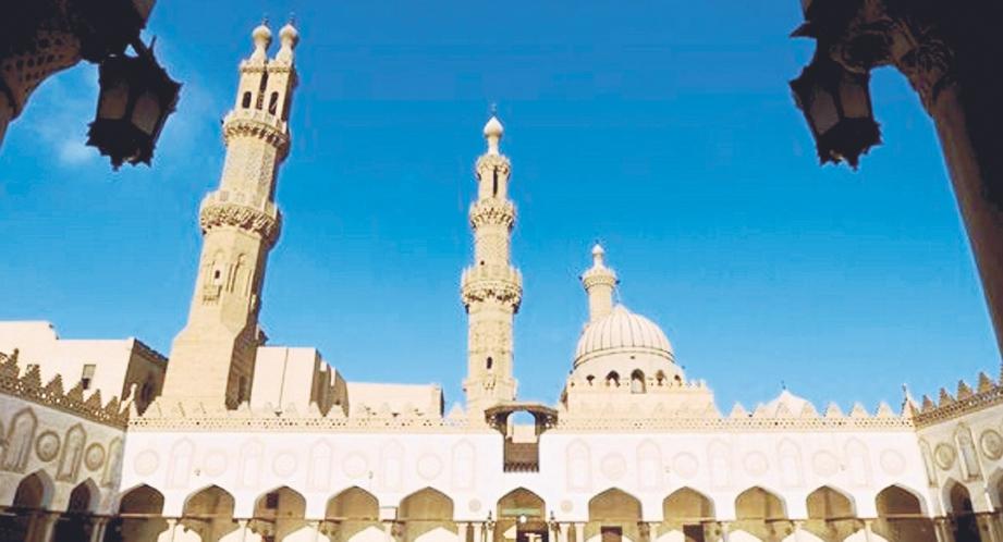 UNIVERSITI Al-Azhar Mesir melahirkan ramai ilmuwan dunia.