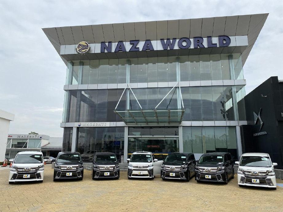 """NAZA Motor Trading megadakan kempen """"Merdeka Beli & Menang"""" sehingga 16 September 2020."""