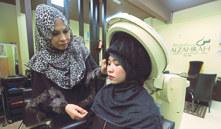 Kendali Dandanan Rambut Berkonsep Muslimah Harian Metro