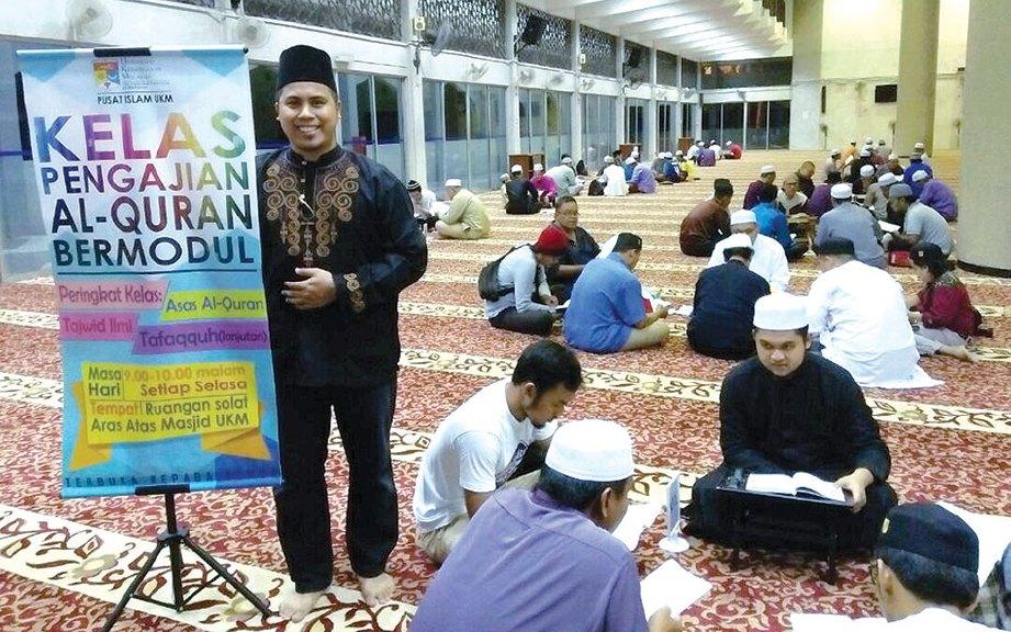MUSA ketika di Masjid UKM.