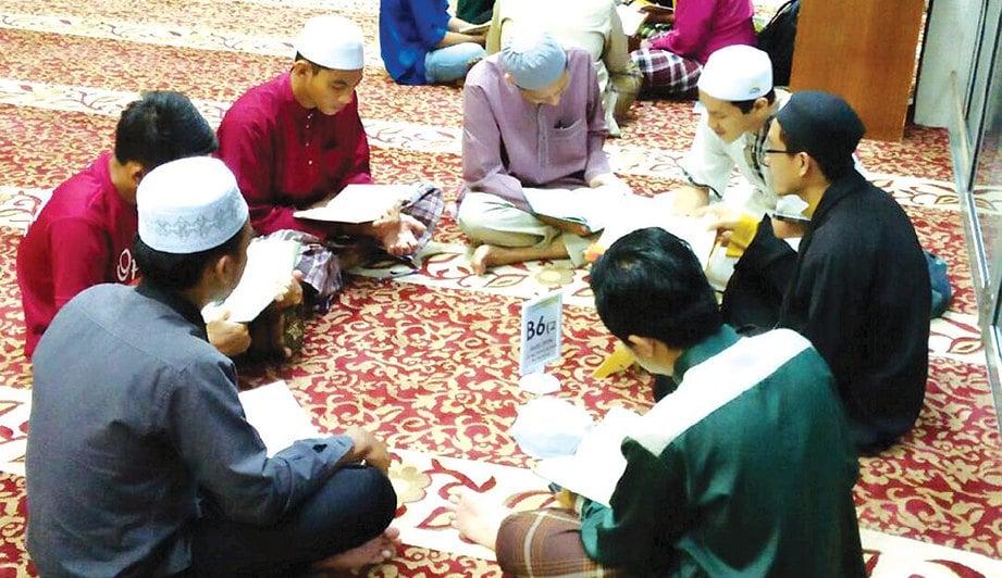 ANTARA pelajar yang mengikuti Kelas Pengajian al-Quran Bermodul.