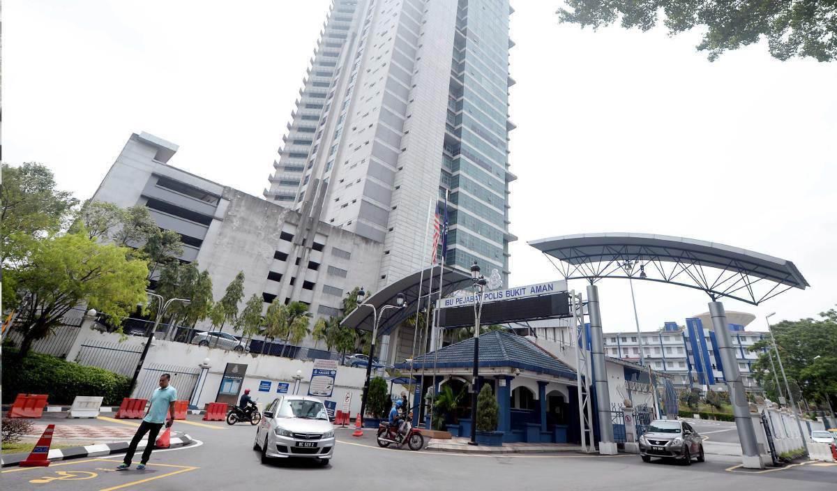 IBU Pejabat Polis Bukit Aman. FOTO Arkib NSTP