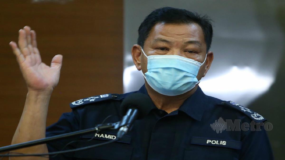 Ketua Polis Negara Tan Sri Abdul Hamid Bador. Foto Mohamad Shahril Badri Saali