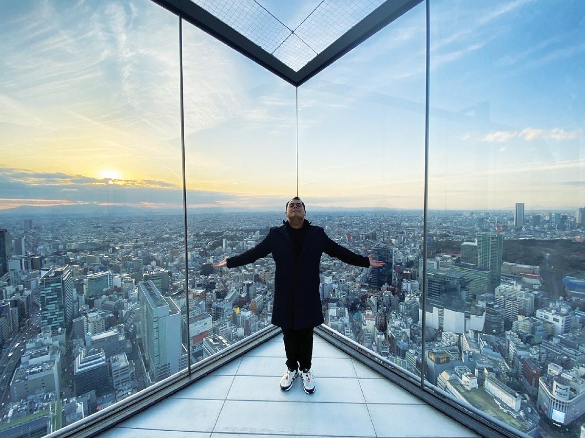 PEMANDANGAN Tokyo 360 darjah dari Shibuya Scamble Square.
