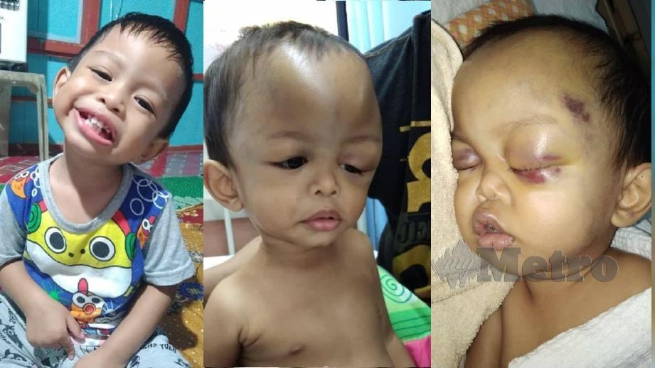 MUHAMMAD Iman kini dirawat di HSNZ, Kuala Terengganu. FOTO ihsan keluarga.