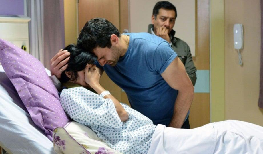 SOKONGAN daripada suami sangat penting bagi meredakan kesedihan ibu.