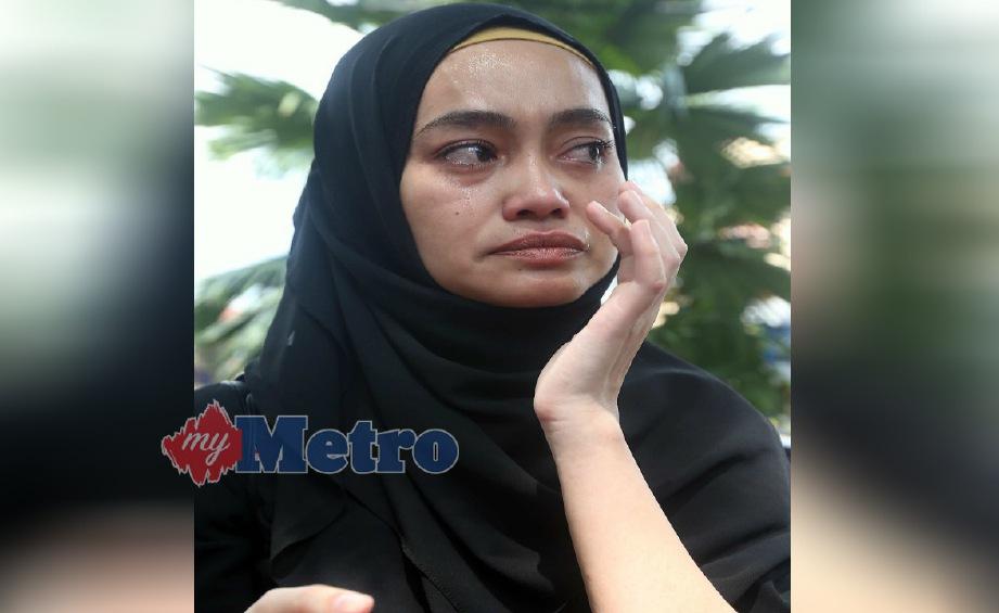 INTAN Liana Saleh hadir di Mahkamah Rendah Syariah Gombak Timur, Kuala Lumpur, hari ini. FOTO Salhani Ibrahim