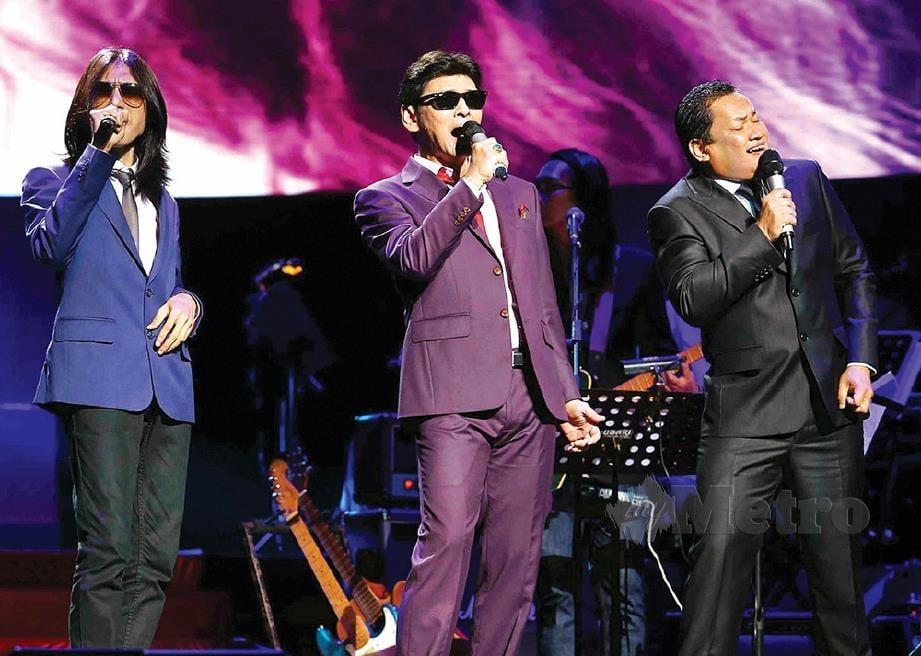 DARI kiri, Zamani, Jamal dan Ameng.