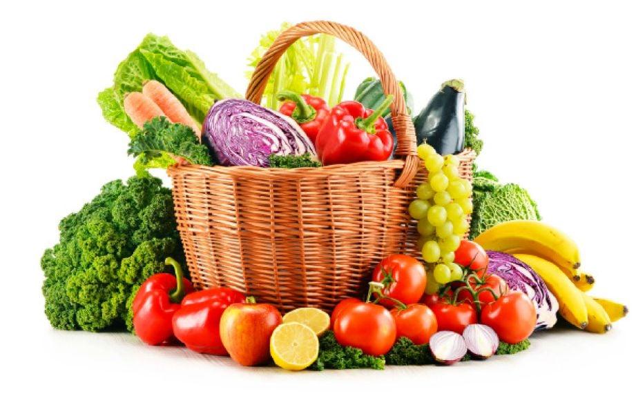 PEMAKANAN sayur dan buah dapat mengurangkan masalah jerawat.