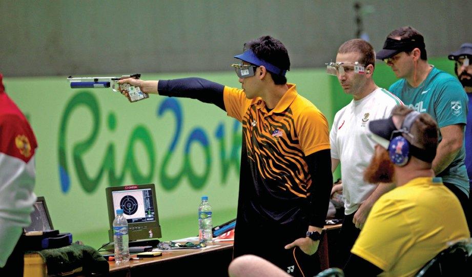 AKSI Johnathan di Olimpik Rio.