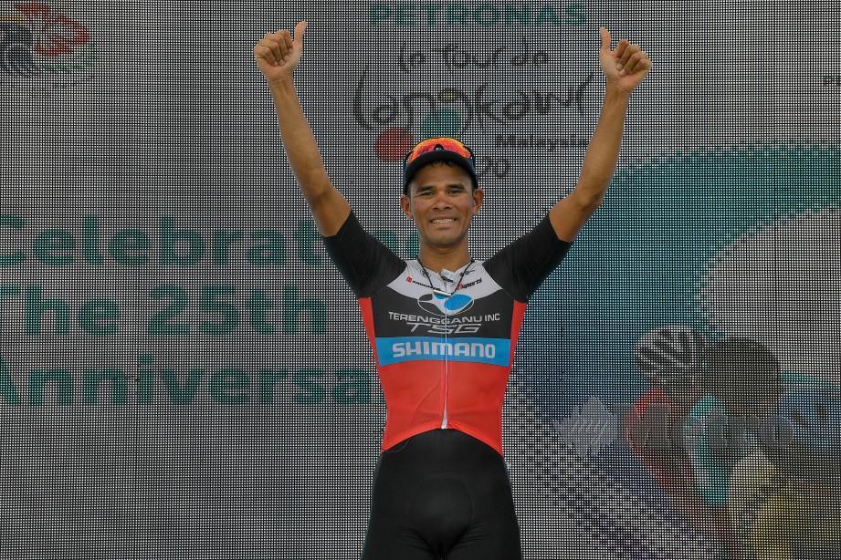 TSG Cycling Team, Mohd Harrif Saleh menjuarai peringkat kelima LTdL.
