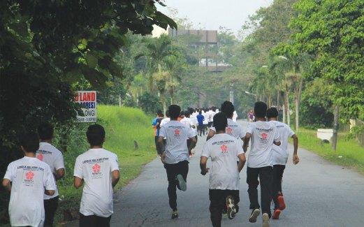 MARESMART Charity Run tanda prihatin dan sokongan kepada pesakit kanser.