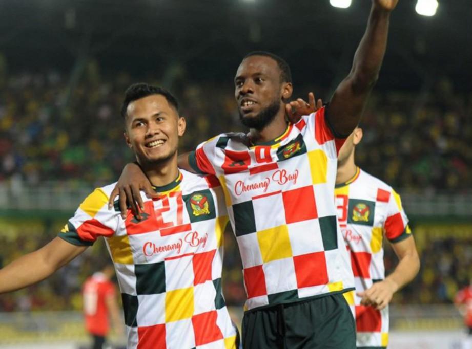 PEMAIN Kedah meraikan kemenangan. FOTO AFC