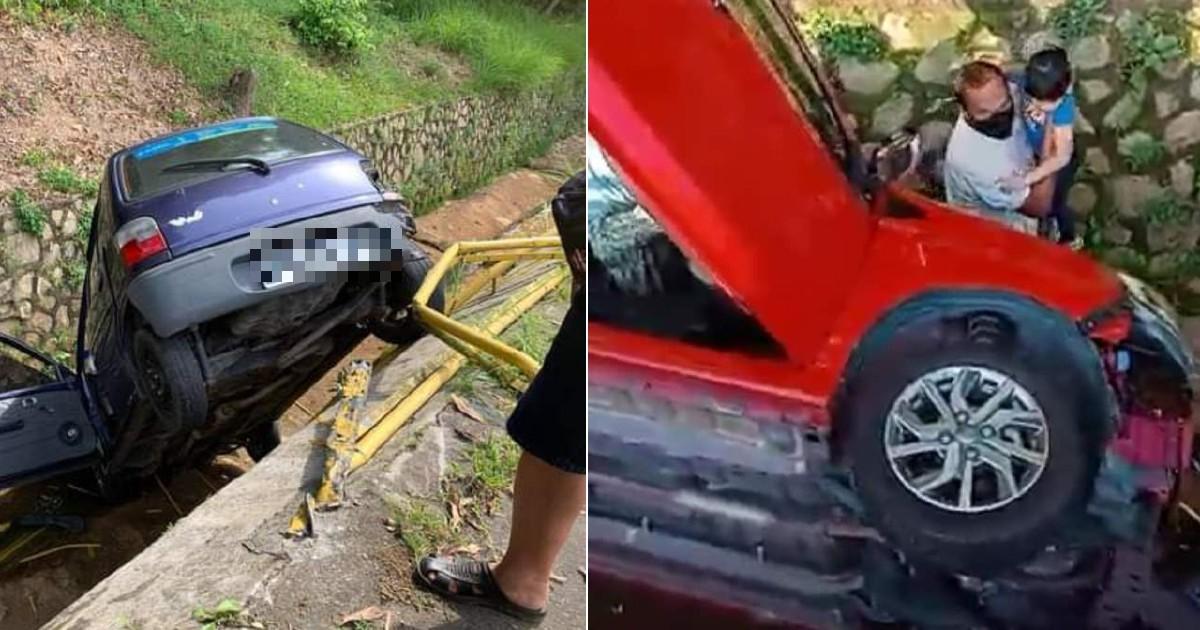 Semalam kereta merah, hari ini kereta ungu pula