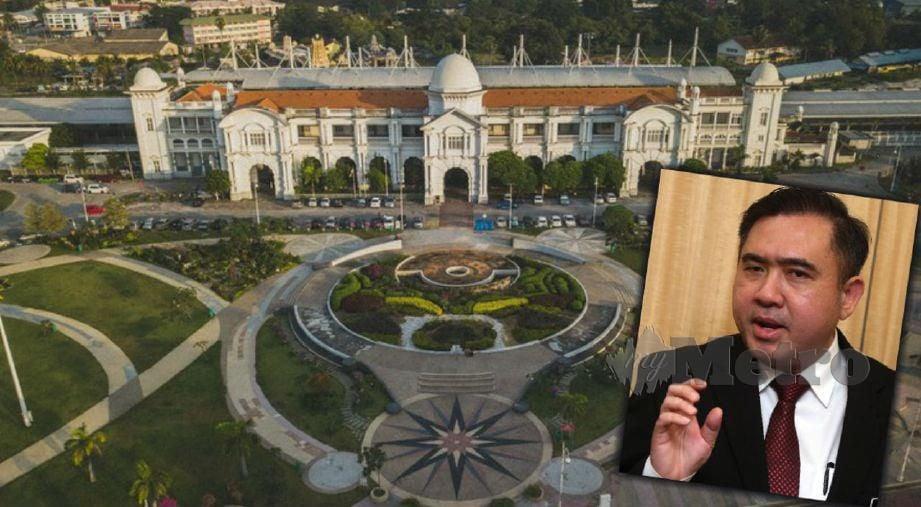 Menteri Pengangkutan Anthony Loke Siew Fook umum usaha baik pulih  Hotel Grand Majestic.