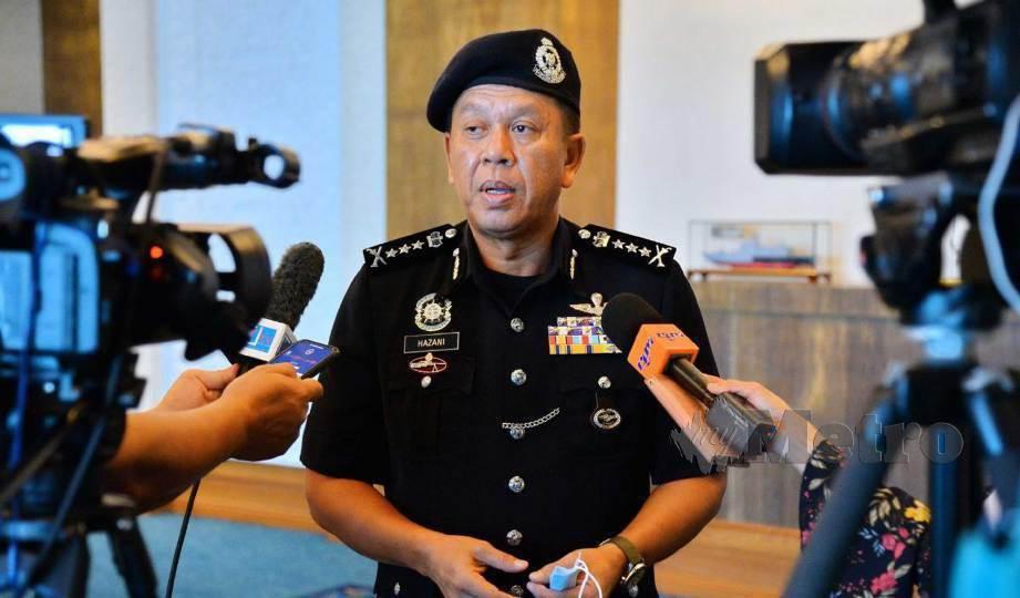 HAZANI ketika ditemui media selepas melakukan kunjungan hormat ke atas Ketua Menteri Datuk Seri Mohd Shafie Apdal di pejabatnya di Kota Kinabalu. FOTO Yun Mikail