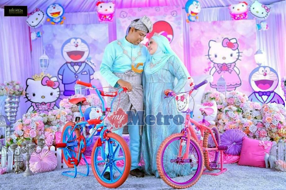 Doraemon Kahwin Dengan Hello Kitty Harian Metro