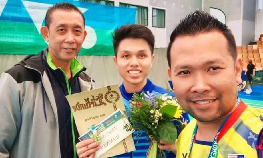 MISBUN bersama Jing Hong (tengah).