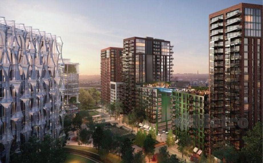 EcoWorld International berjaya menjual 47 unit kediaman The Modern di Embassy Gardens, London bernilai RM228.2J selepas dilancarkan.