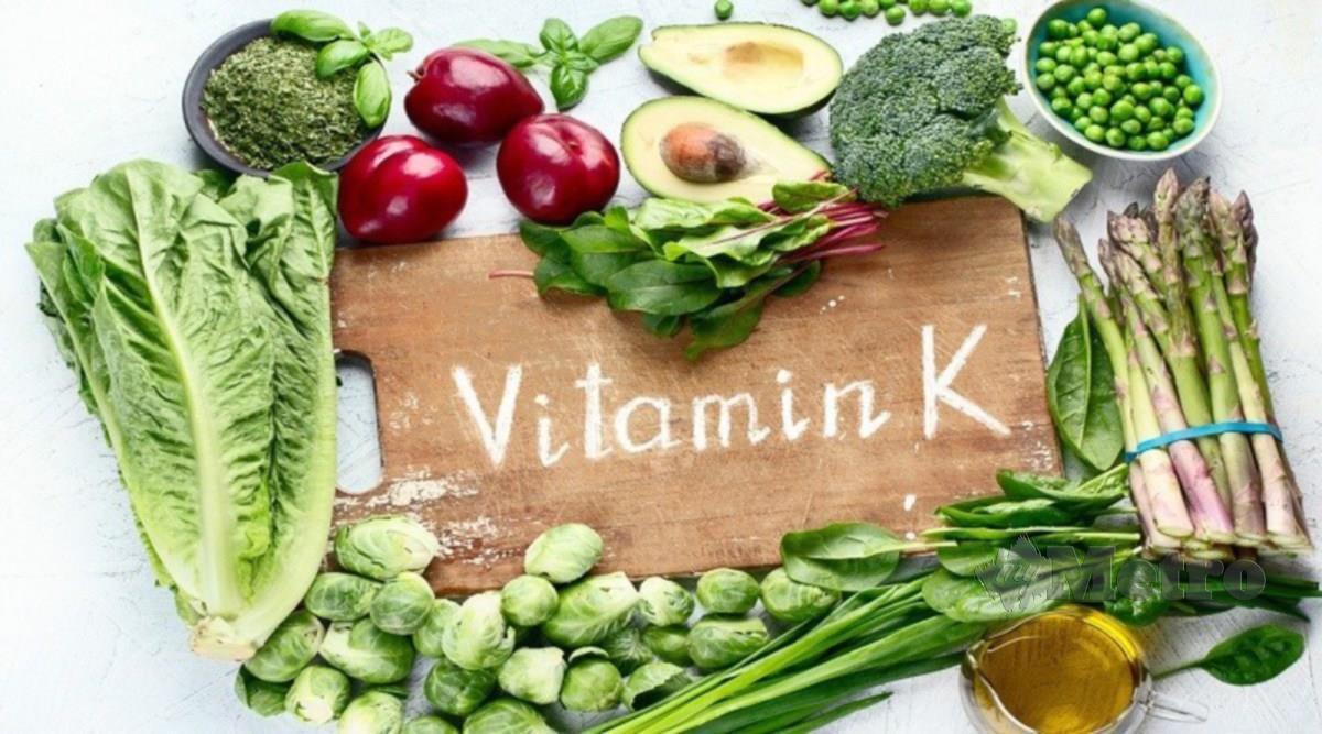 VITAMIN K diperlukan untuk diet seimbang.
