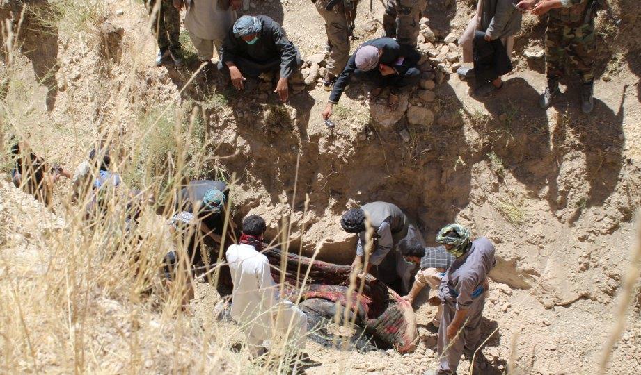 Polis temui Kubur besar 36 mayat