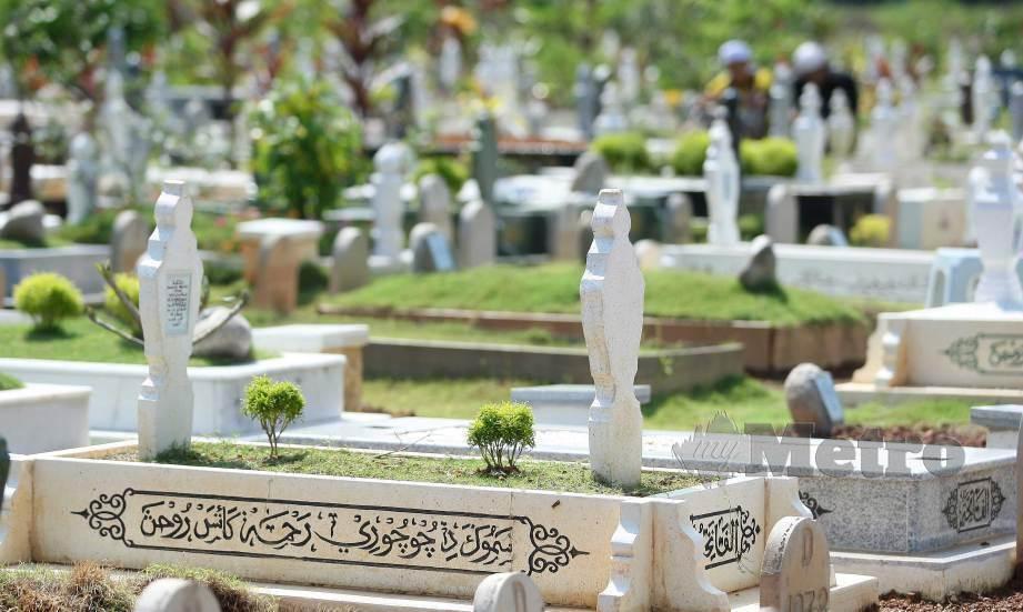 JAIS tidak membenarkan menziarahi Makam Diraja atau tanah perkuburan Islam pada Aidilfitri ini. FOTO Arkib NSTP