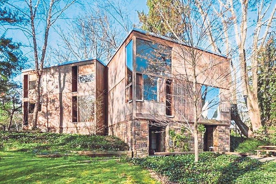 FISHER House hasil rekaan arkitek Louis.