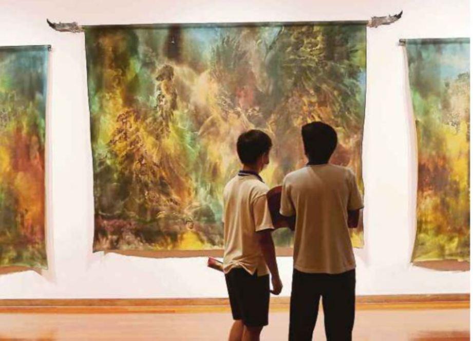 ANTARA karya pernah dipamerkan di Balai Seni Negara.