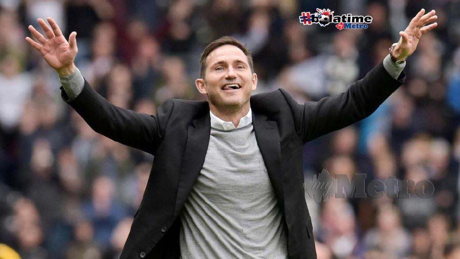 Lampard bakal pengurus baru Chelsea. FOTO REUTERS