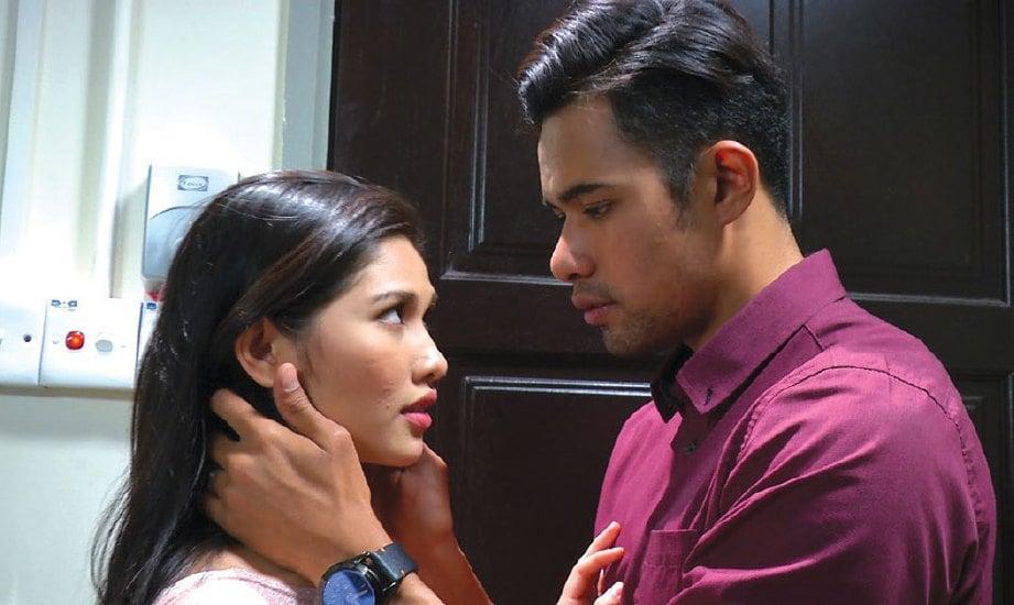HAFREEZ dan Afifah tunjang utama drama bersiri Pengantinku Jatuh Dari Langit.