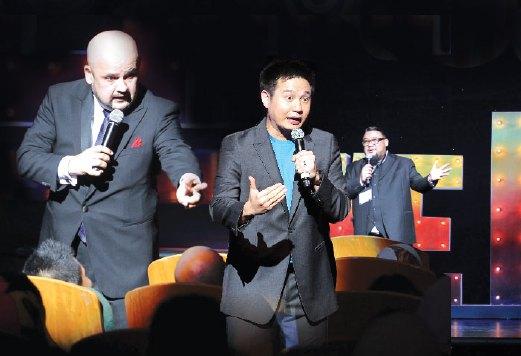 LAWAK Ke Der 2015 perlihatkan bukan hanya pelawak popular mampu buat penonton ketawa.