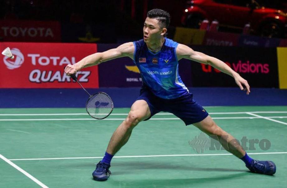 ZII Jia gagal ulangi kemenangan ke atas Chen Long. — FOTO AFP