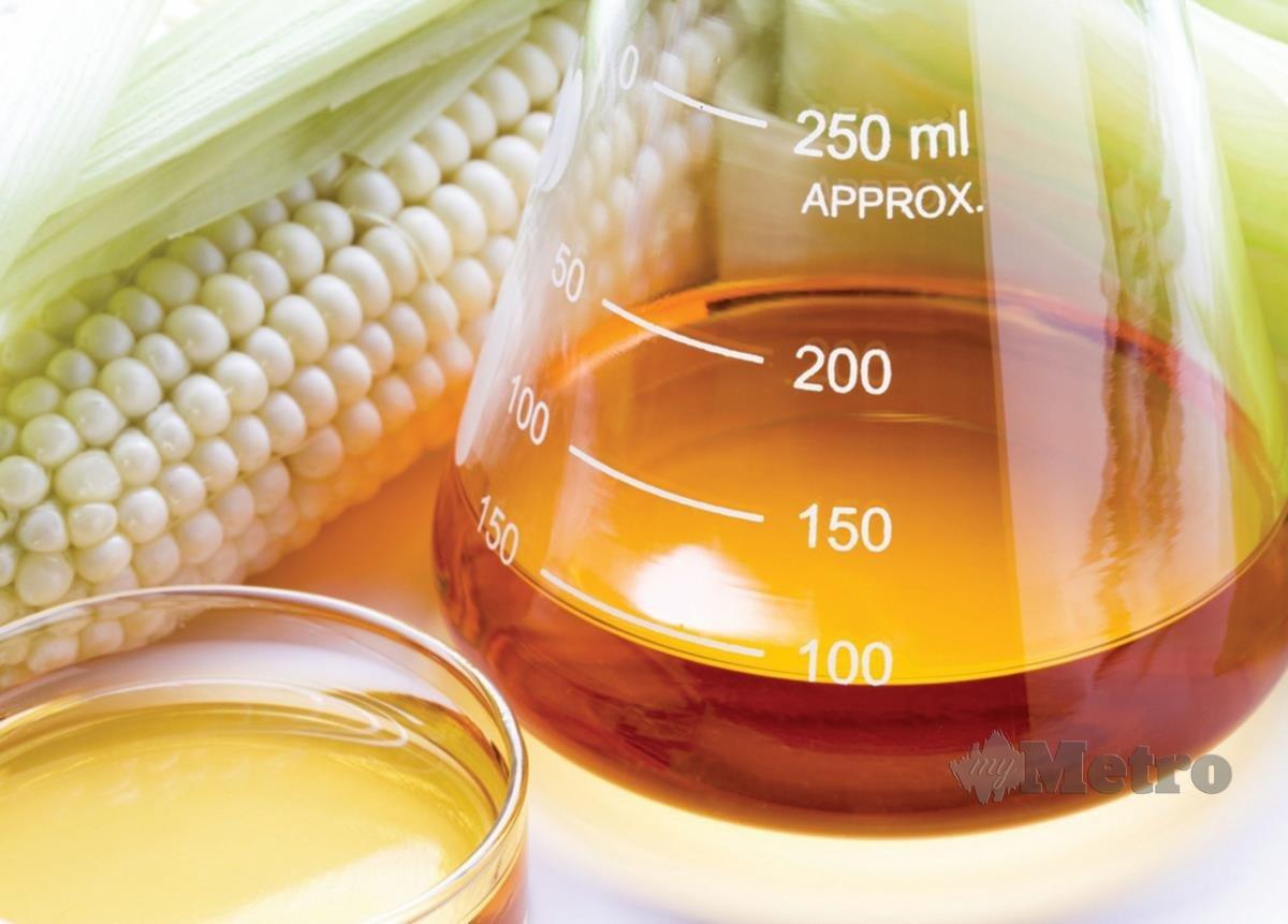 GULA diproses daripada jagung (HFCS) terkandung dalam banyak makanan.